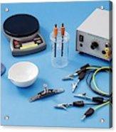 Apparatus For Electrolysis Of Seawater Acrylic Print