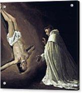 Apparition Of Apostle Saint Peter To Saint Peter Nolasco Acrylic Print