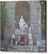 Apparition Of Virgin Mary Acrylic Print