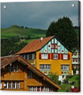 Appenzell Famous Windows Acrylic Print