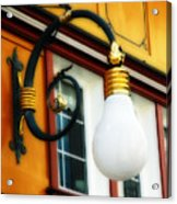 Appenzell's Swiss Lamp Store Acrylic Print