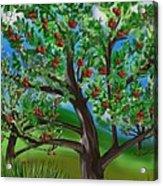 Apple Acres Acrylic Print