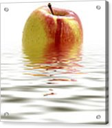 Apple Afloat Acrylic Print