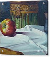 Apple And Pottery Acrylic Print