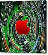 Apple Computer Abstract  Acrylic Print