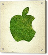 Apple Grass Logo Acrylic Print