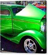 Apple Green Jewel Acrylic Print