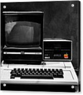 Apple II Personal Computer 1977 Acrylic Print by Bill Cannon