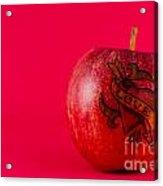 Apple Love From Tattoo Series Acrylic Print