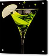 Apple Martini Splash Acrylic Print