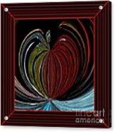 Apple Of My Eye In Frame Acrylic Print