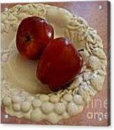 Apple Still Life 1 Acrylic Print