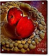 Apple Still Life 2 Acrylic Print