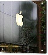 Apple Store Acrylic Print by Viktor Savchenko