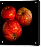 Apple Trio Acrylic Print