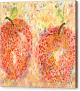 Apple Twins Acrylic Print