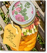 Applepie Filling Canned Acrylic Print