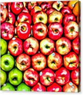 Apples And Oranges Acrylic Print