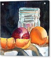Apples And Oranges Acrylic Print by Mohamed Hirji