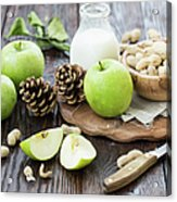 Apples And Peanuts For Breakfast Acrylic Print