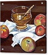 Apples With Honey Acrylic Print