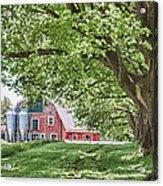 Appleton Barn Acrylic Print