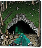 Approach To The Kobold Caves Acrylic Print