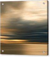 Approaching Evening Storm Acrylic Print by Bob Retnauer