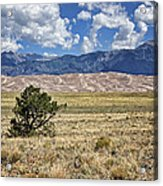 Approaching Great Sand Dunes #2 Acrylic Print