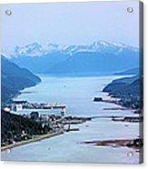 Approaching Juneau Acrylic Print