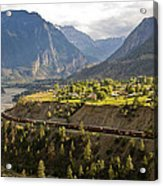 Approaching Lillooet Acrylic Print