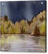 Approaching Rain Acrylic Print