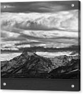 Approaching Storm Over Lake Tahoe Acrylic Print