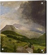 Approaching Storm  White Mountains Acrylic Print by Alvan Fisher