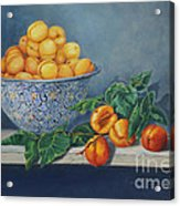 Apricots And Peaches Acrylic Print by Enzie Shahmiri