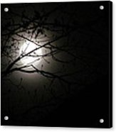 April 2013 Full Moon Acrylic Print