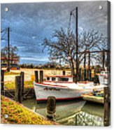 April Dawn Poquoson Virginia Acrylic Print