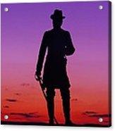 April Sunset In Gettysburg Acrylic Print