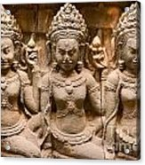 Apsara - Angkor Wat Acrylic Print