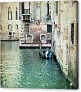 Aqua - Venice Acrylic Print