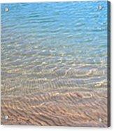 Aqua Art Acrylic Print