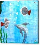 Aqua Life Acrylic Print