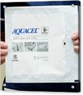 Aquacel Wound Dressing Acrylic Print