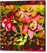 Aqualigia Floral 11x14 Acrylic Print