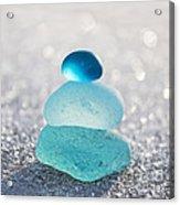 Aquamarine Ice Light Acrylic Print