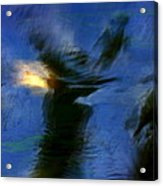 Aquarelle  Blue #1 Acrylic Print
