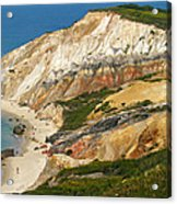 Aquinnah Clay Cliffs Marthas Vineyard Acrylic Print