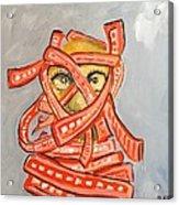 Arab Israelis II  Acrylic Print by Marwan  Khayat