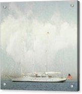 Arabella On Newport Harbor Acrylic Print