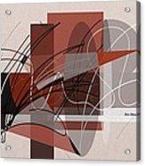 Arabescos 2 Acrylic Print